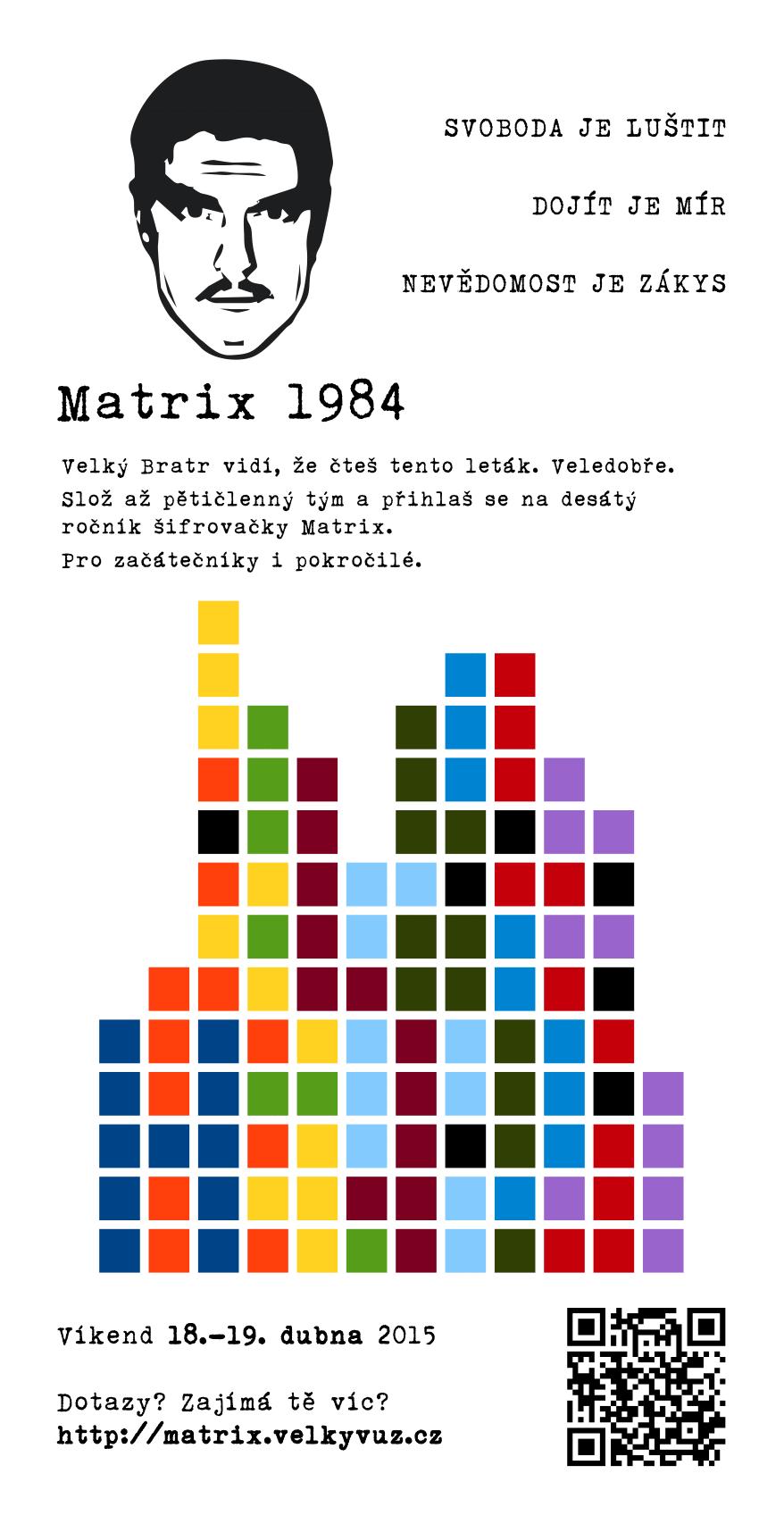 Matrix 1984: Leták